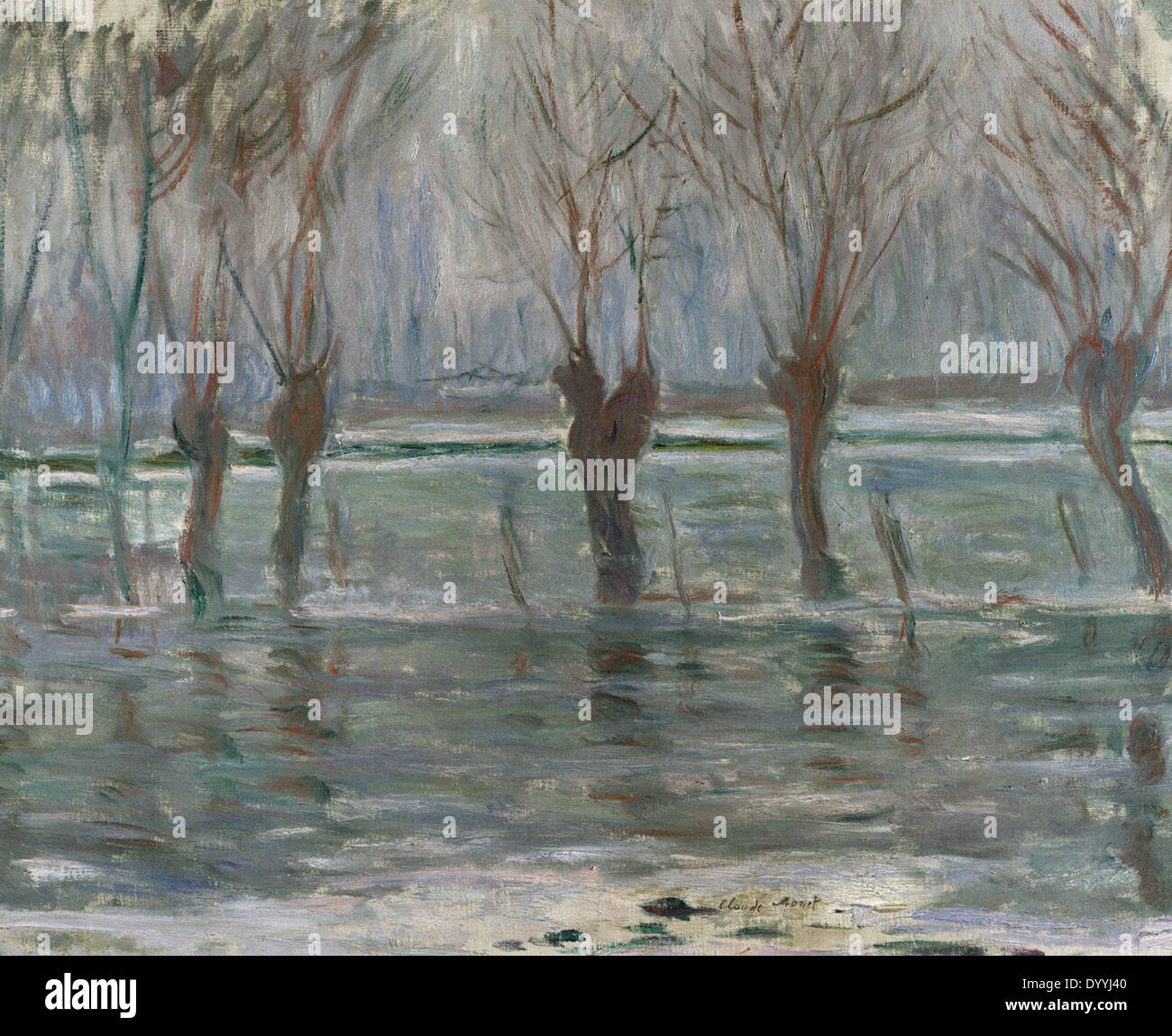 Flood Waters - Stock Image