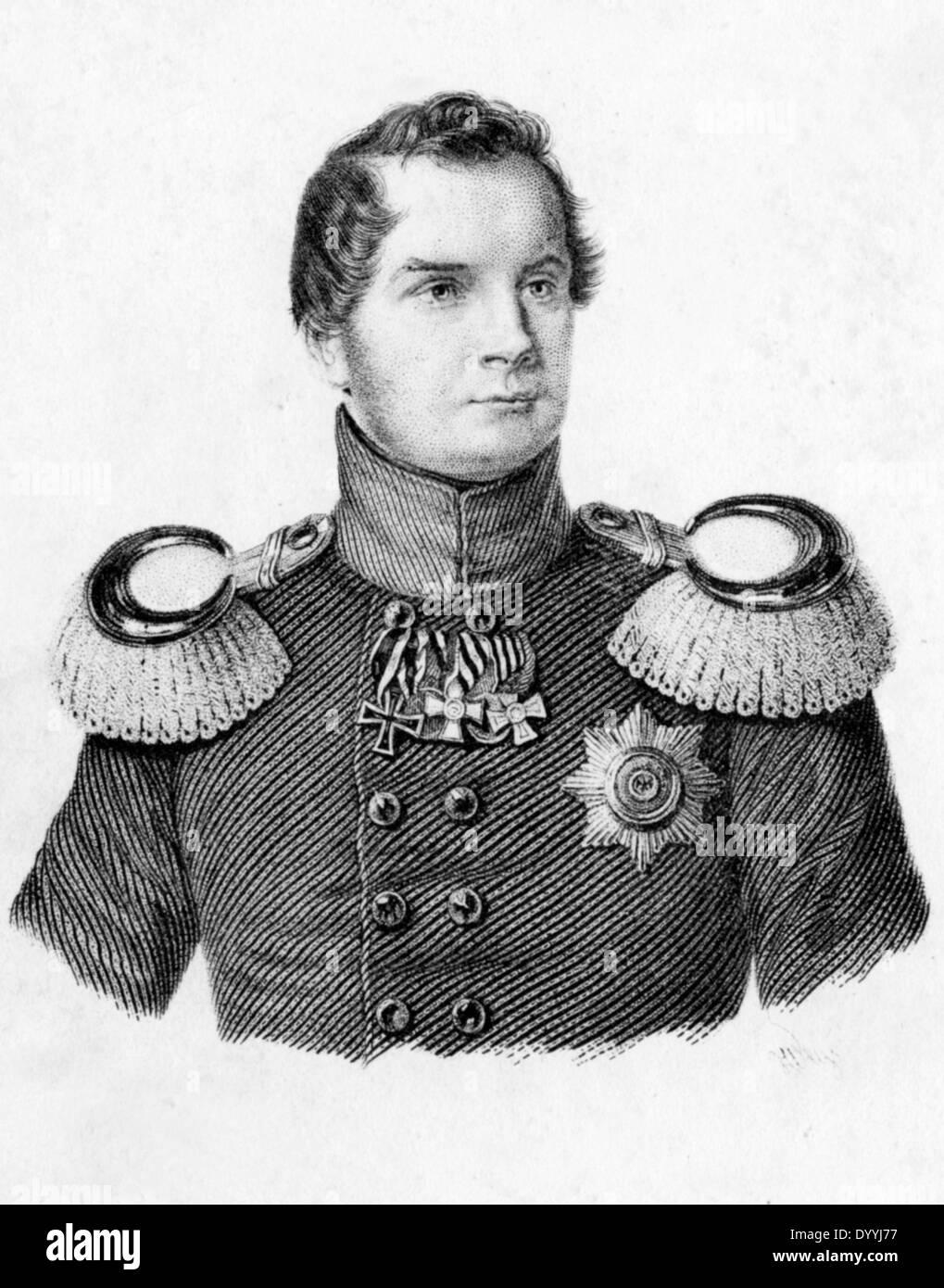 Friedrich Wilhelm IV. - Stock Image