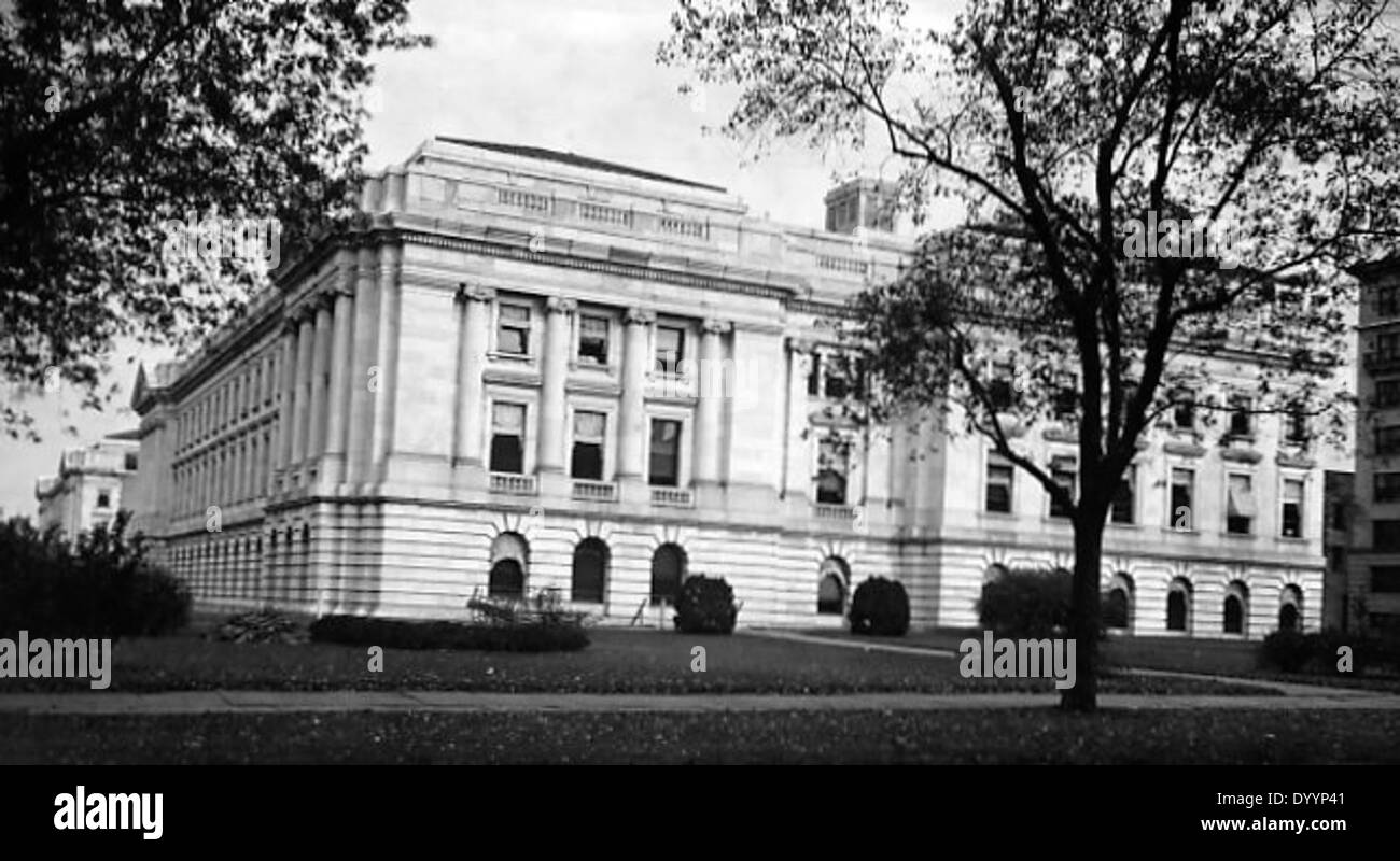 Exterior view of the Department of Agriculture - Stock Image