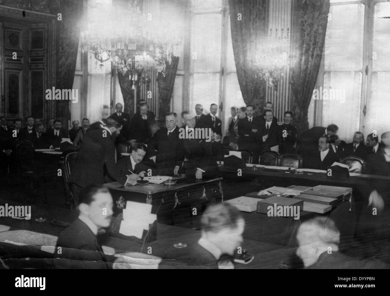 the background of the signing of the treaty of versailles in germany after wwi The causes of wwii are rooted in the aftermath of wwi and the effects of the treaty of versailles, which ended the first world war one of the many provisions of the treaty of versailles was for germany to accept responsibility for causing the great war.
