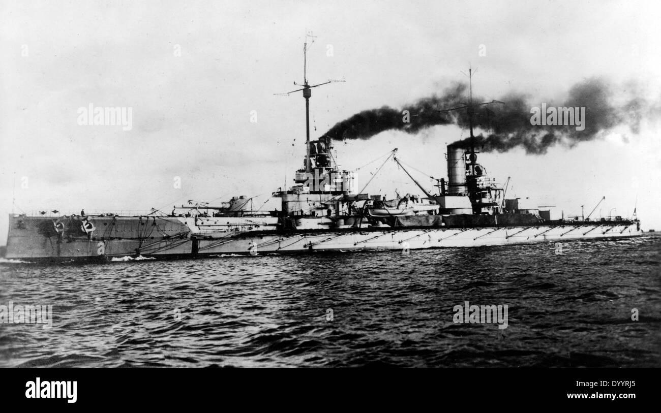 S.M.S. Friedrich der Große, 1916 - Stock Image