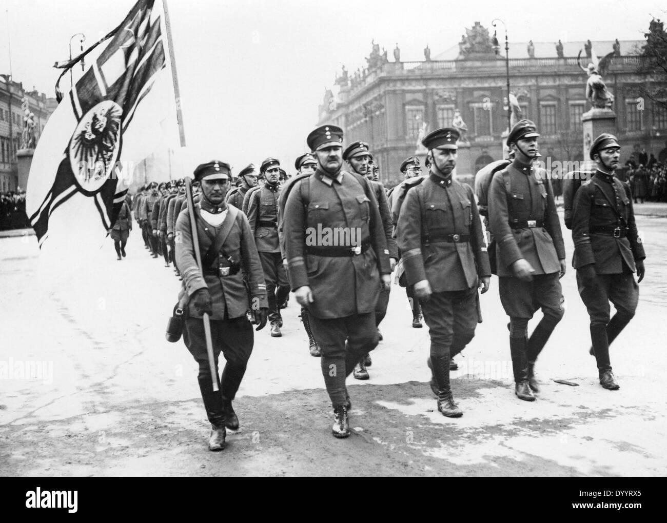 March of ' Der Stahlhelm' in B...