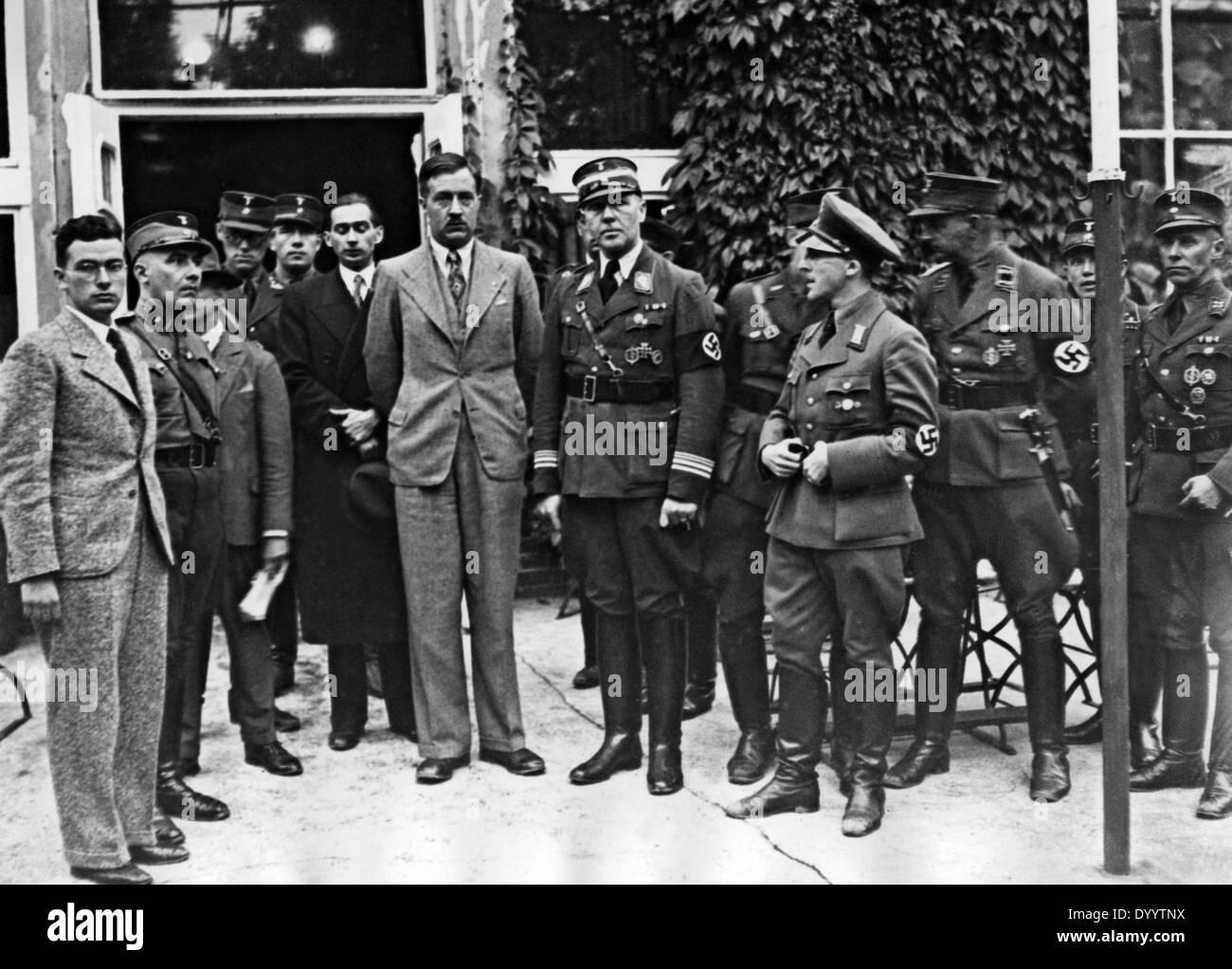 Polish jurist leaders, 1935 - Stock Image