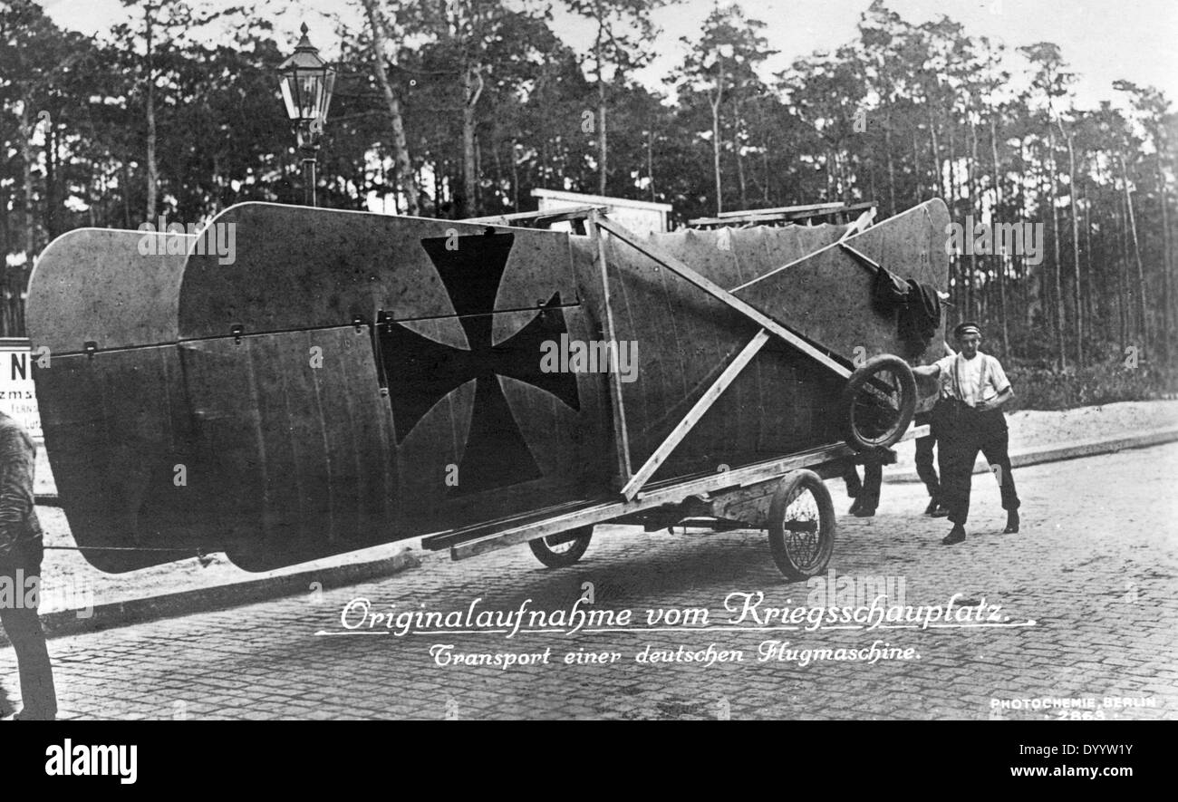 First World War: German Air Force Units Stock Photo