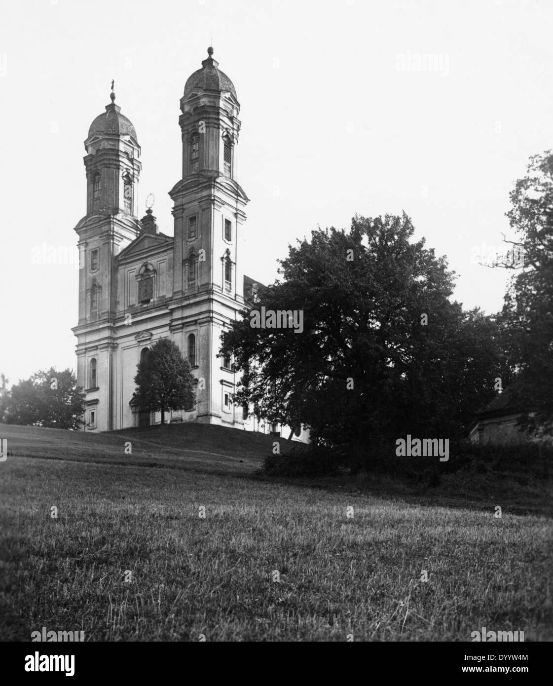 Pilgrimage church in Ellwangen, 1931 - Stock Image