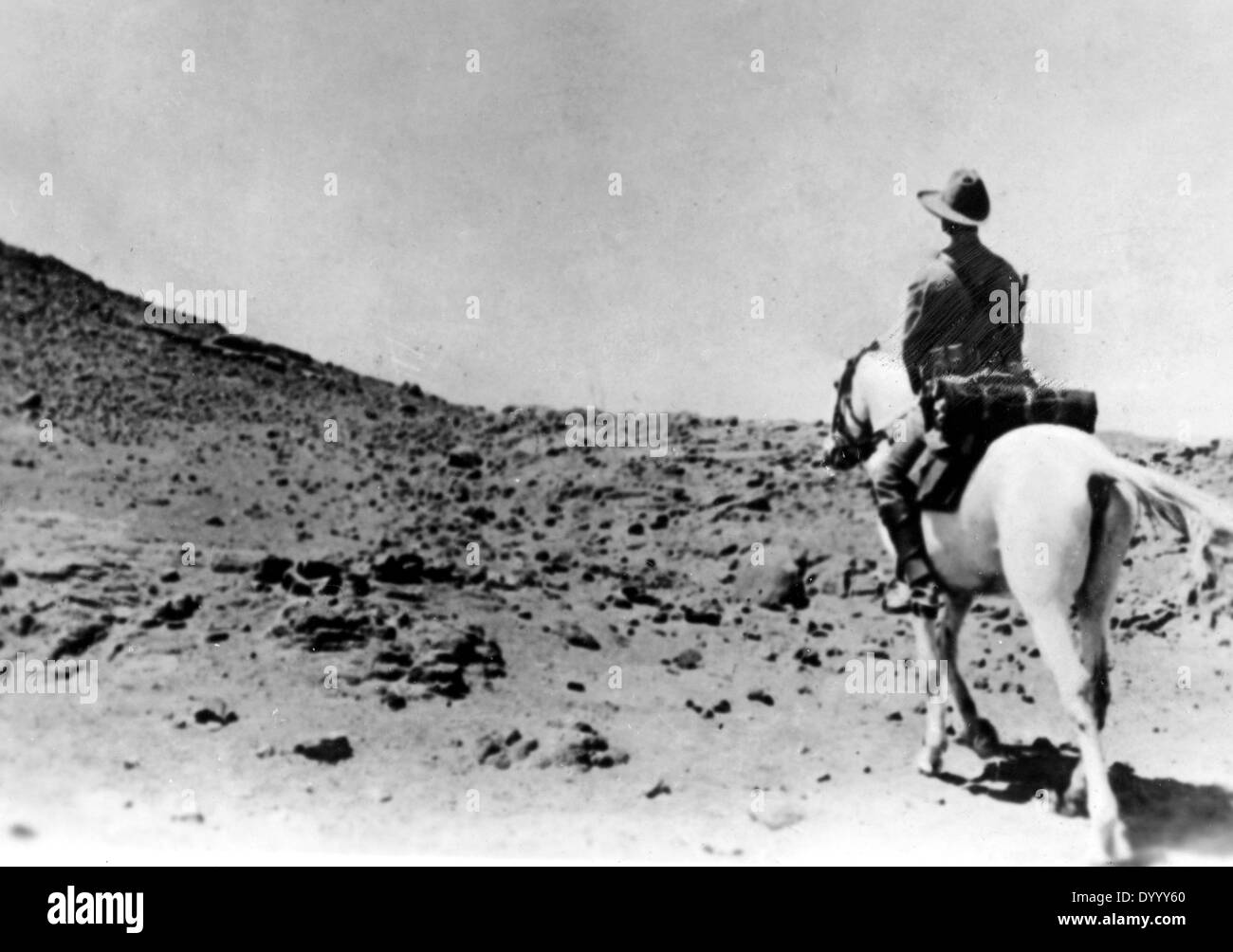Cavalry in German South-West Africa, 1914 - Stock Image