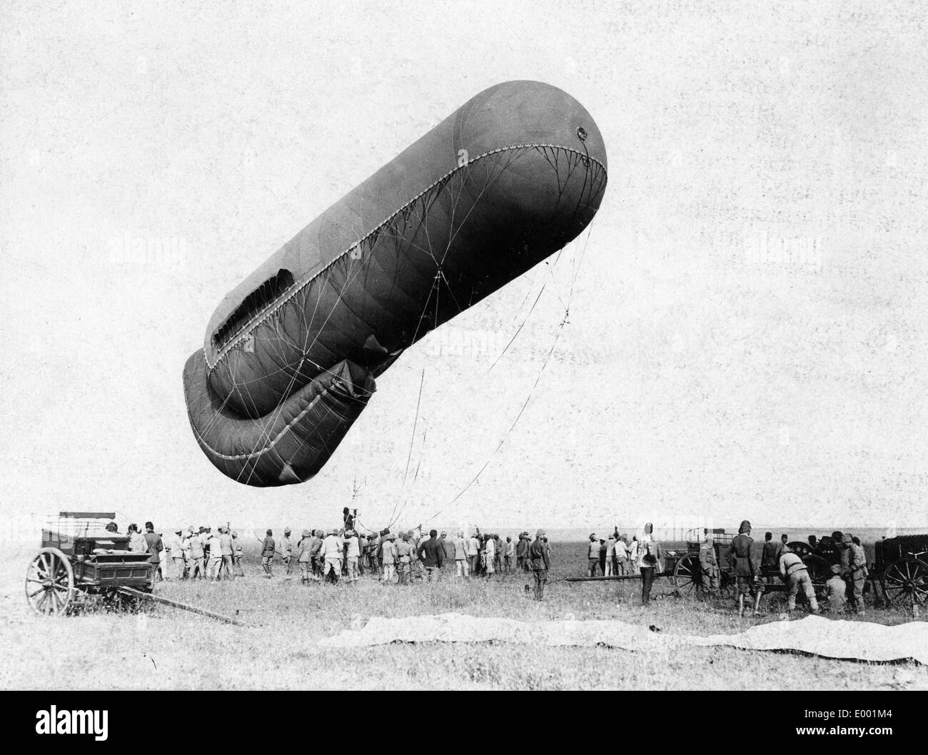 Turkish allies in World War I, 1915 - Stock Image