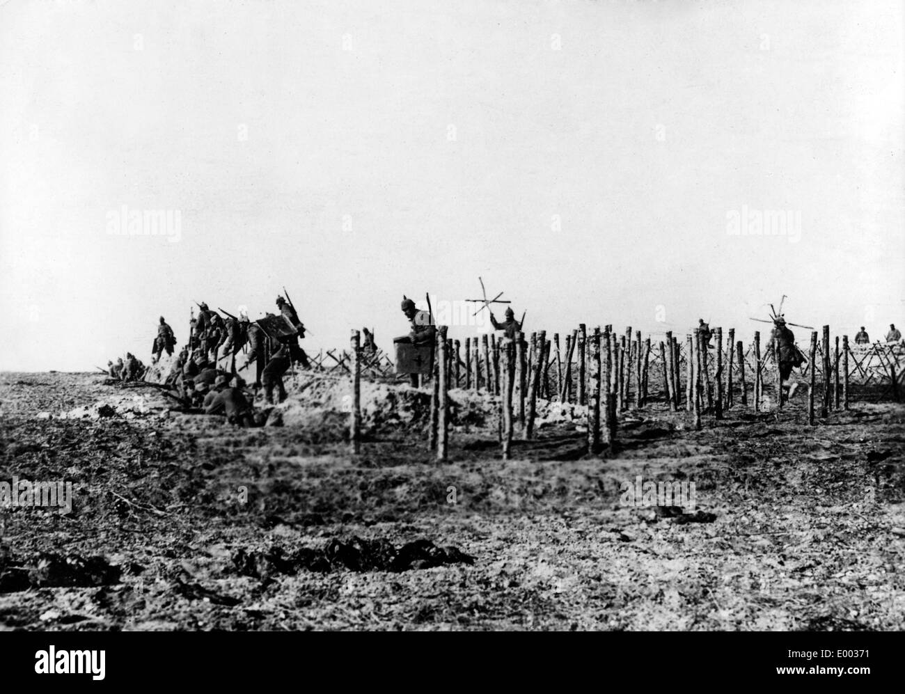 German Army Trenches Stock Photos & German Army Trenches Stock ...