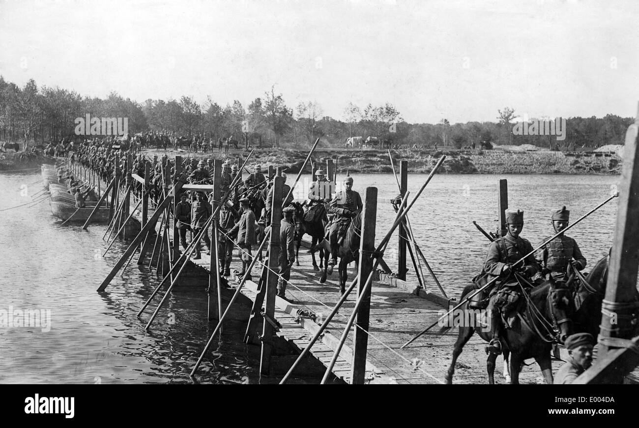 German Cavalry in Poland, 1915 - Stock Image
