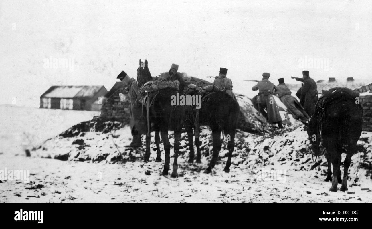 German Cavalry, 1915 - Stock Image