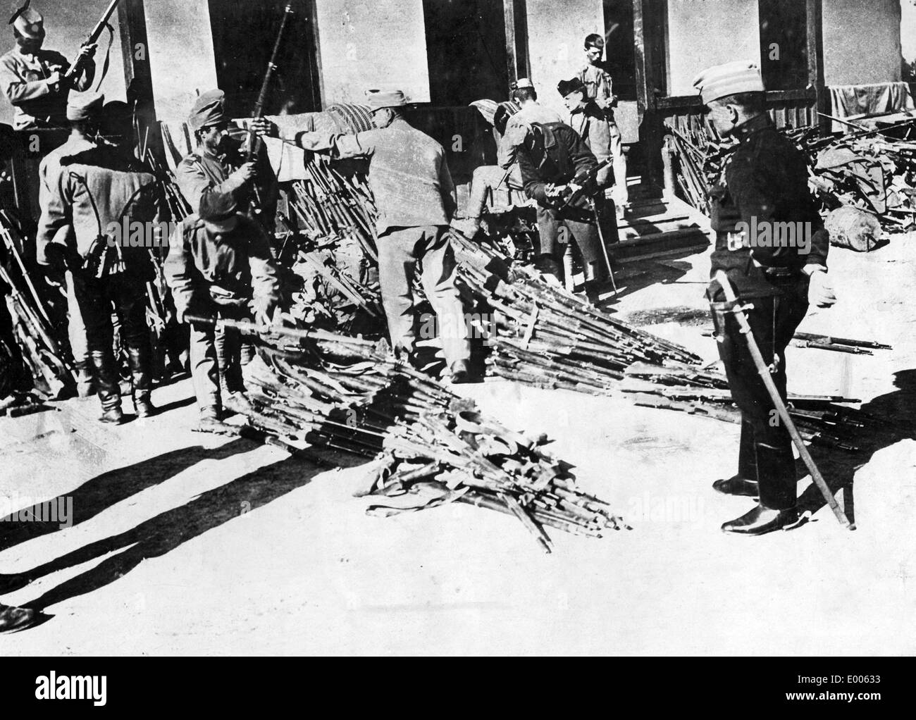 War loot for Austro-Hungary, 1916 - Stock Image