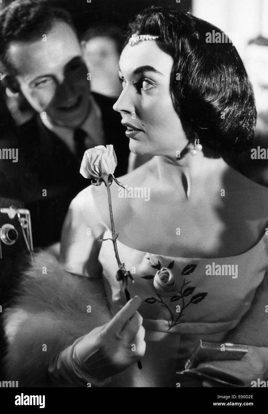 Ludmilla Tcherina, 1956 - Stock Image