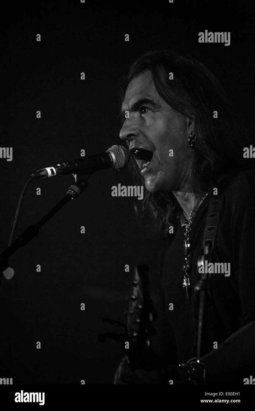 New Model Army at the Oxford O2 April 23rd 2014 as part of the UK leg of the tour for their twelfth studio album - Stock Image