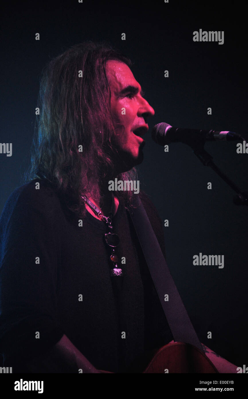New Model Army at the Oxford O2 April 23rd 2014 as part of the UK leg of the tour for their twelfth studio album Stock Photo