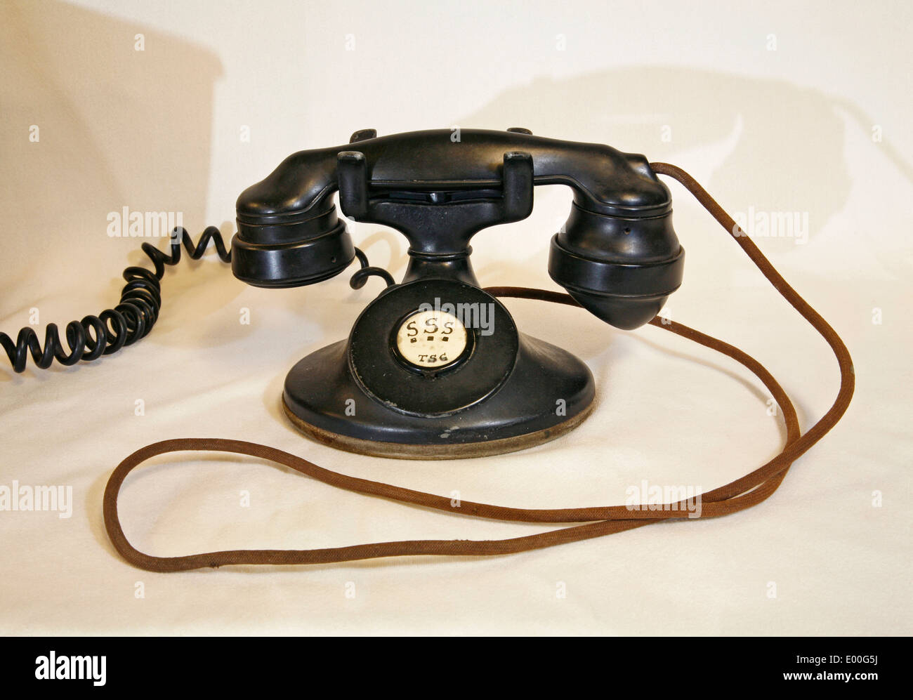 An American telephone, circa about 1930 - Stock Image