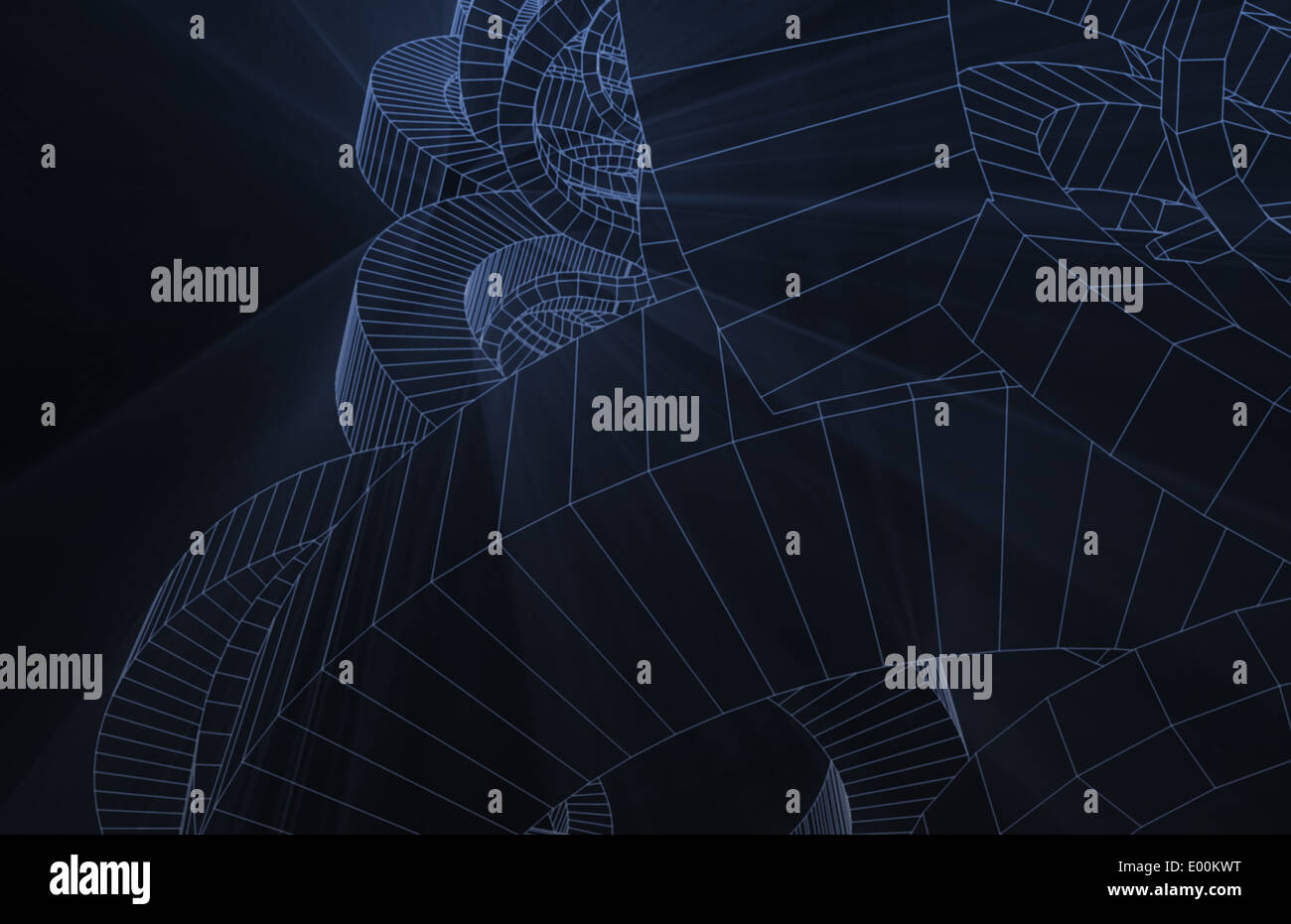 Design Schematics of Product or Machine as Art - Stock Image