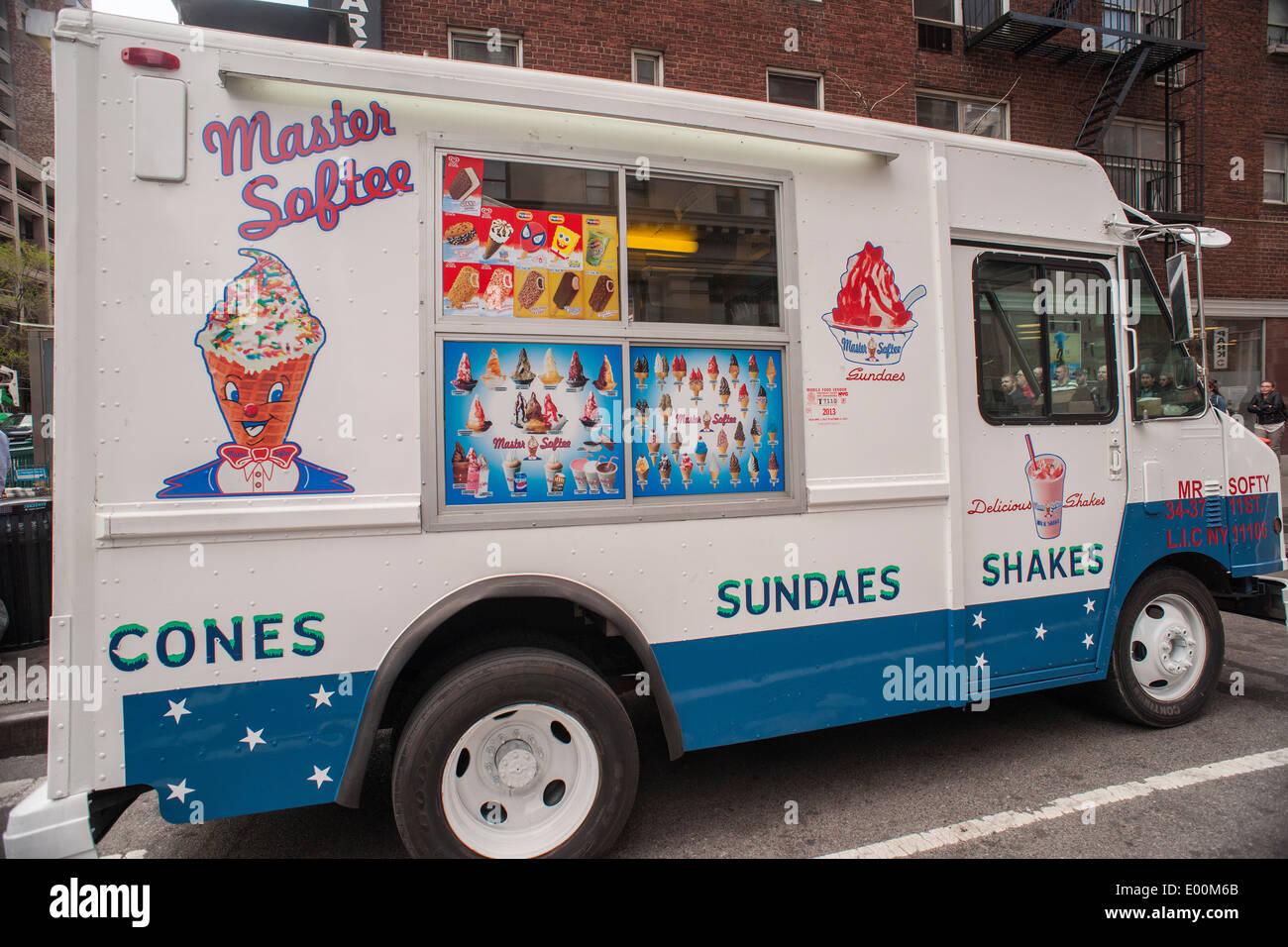 Ice Cream Truck Mr Softee A Master Softee...