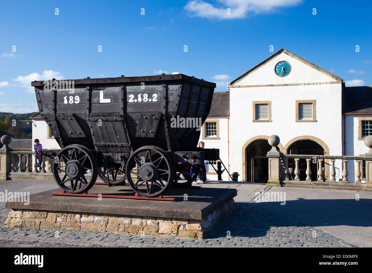 Beamish Museum Entrance, County Durham, England - Stock Image