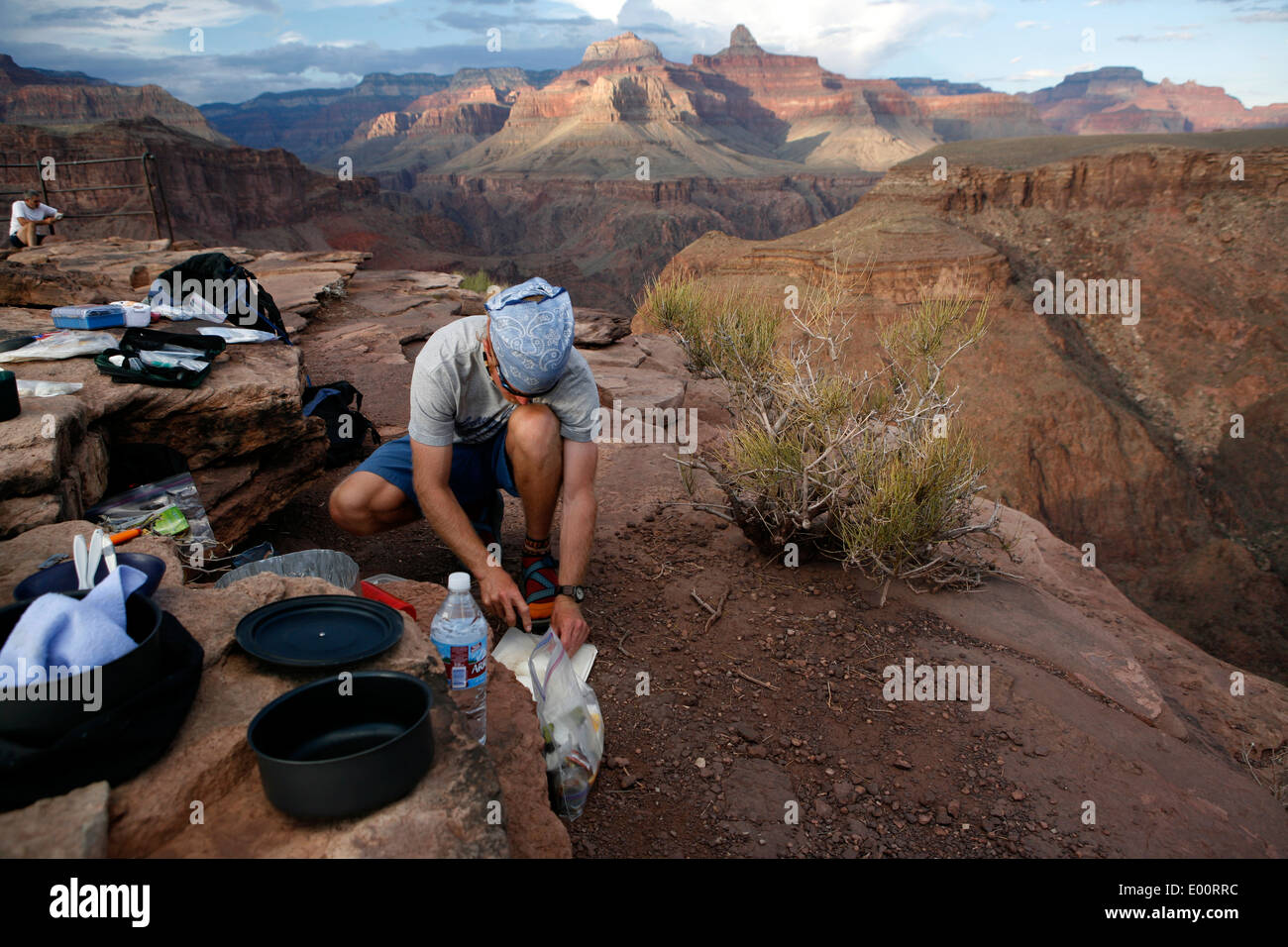 The Grand Canyon, a UNESCO World Heritage Site. - Stock Image