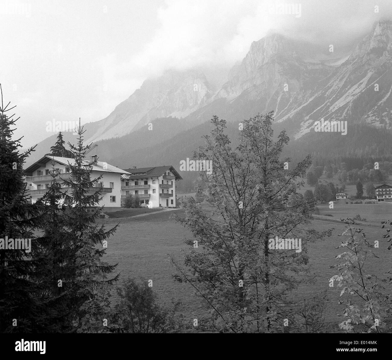 Ramsau in Styria, Austria, 1968 Stock Photo