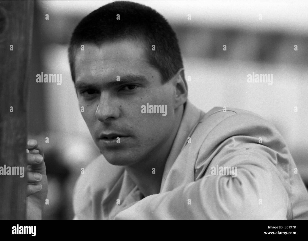 Manfred Maurer, 1998 - Stock Image