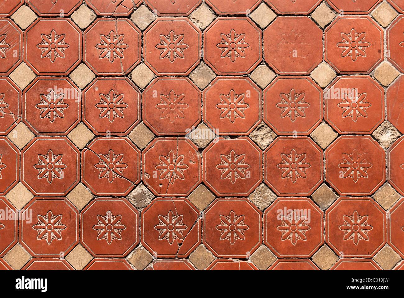 Terracotta Tile Floor Stock Photos Terracotta Tile Floor Stock