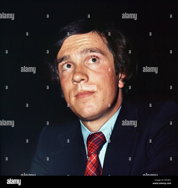 Matthias Wissmann, 1975 - Stock Image