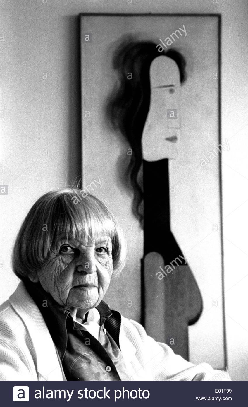 Tut Schlemmer, 1983 - Stock Image