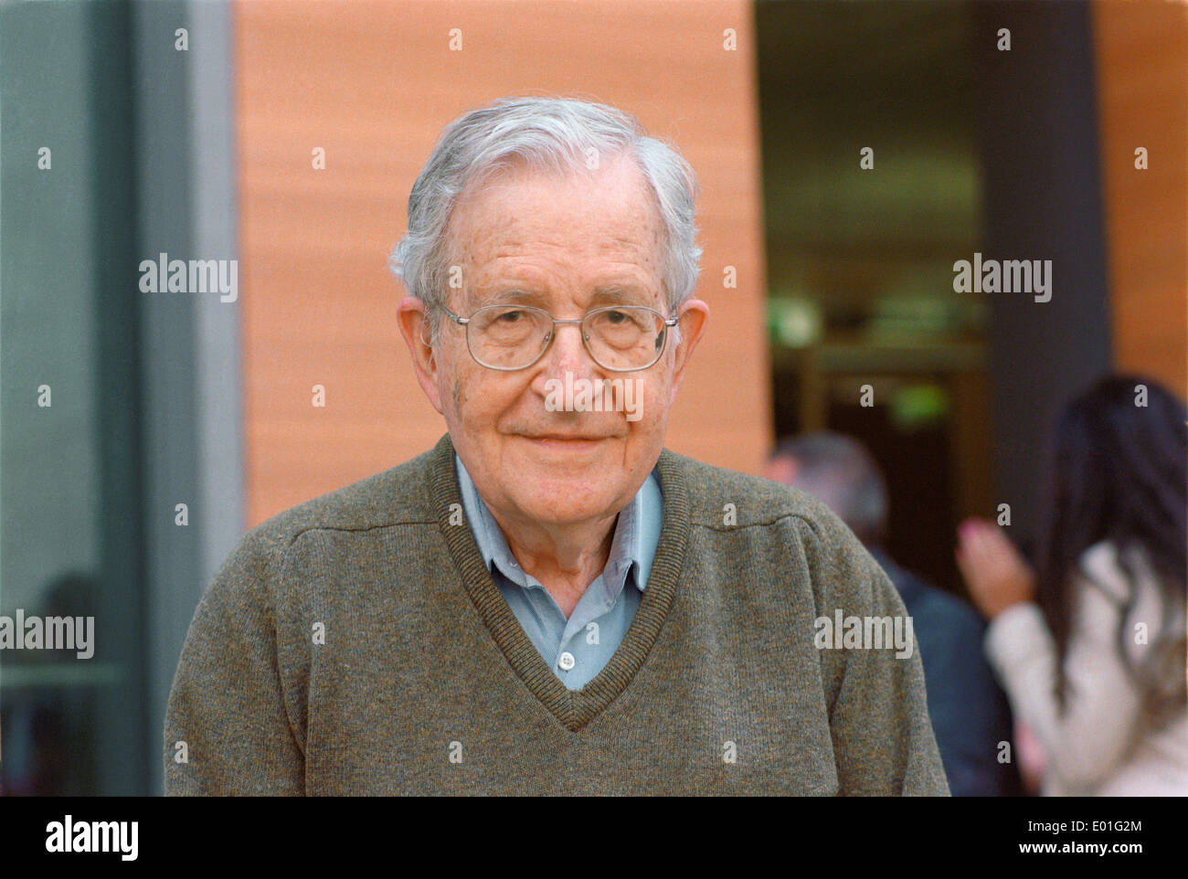 Noam Chomsky - Stock Image