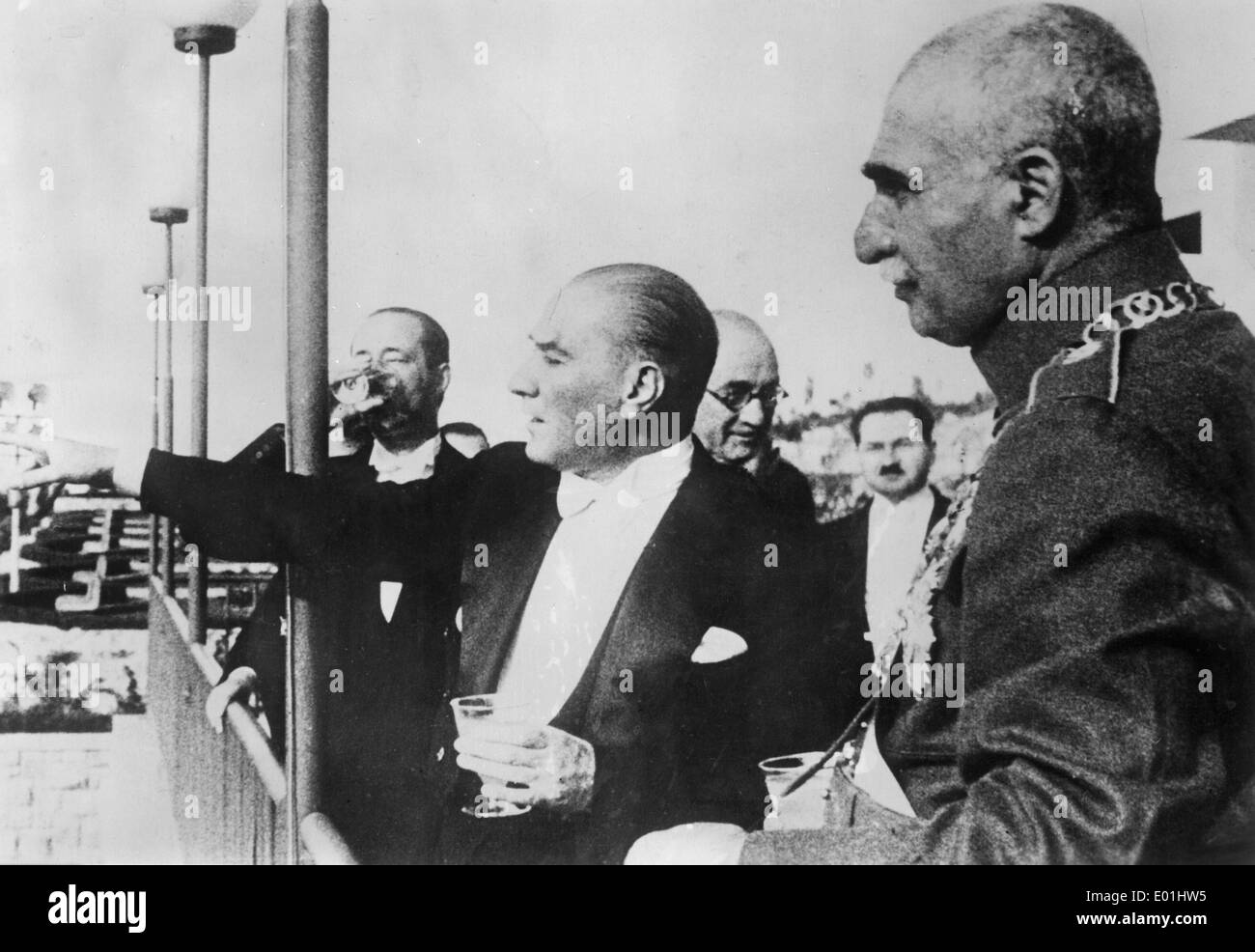 Reza Shah Pahlavi Stock Photos and Images