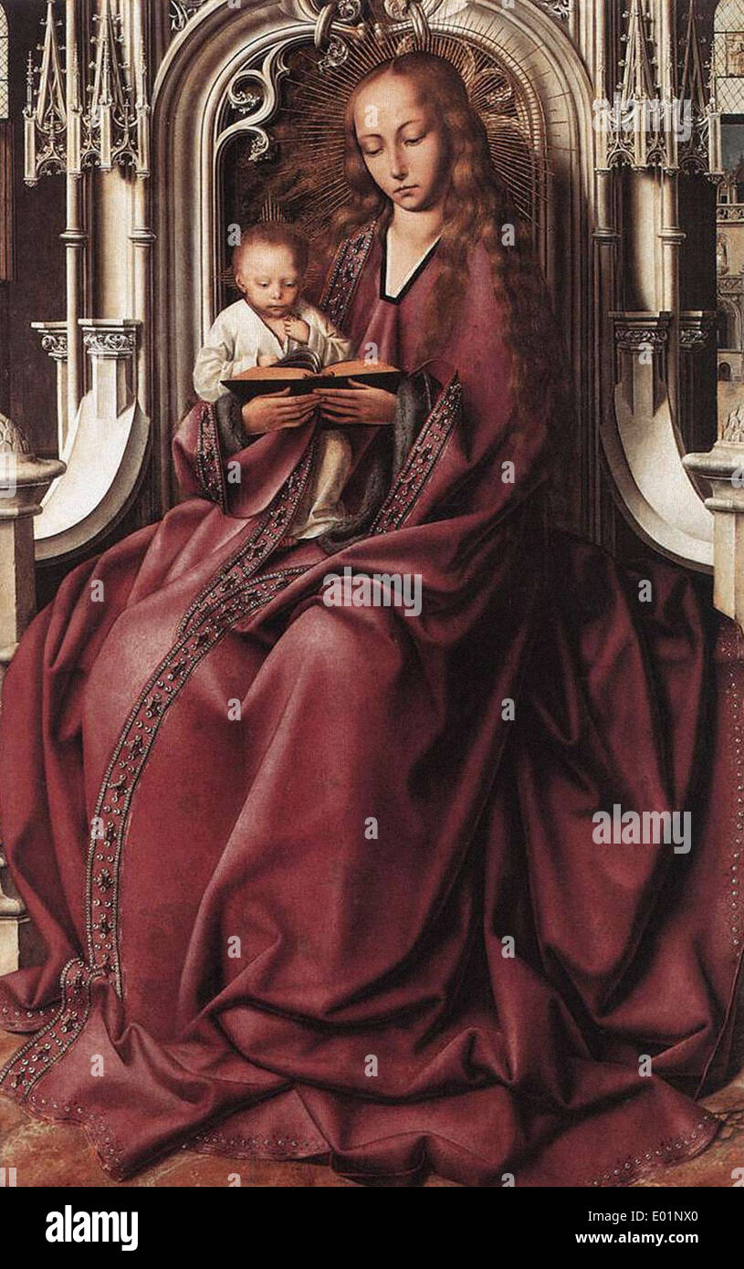 Quentin Massys Virgin and Child 2 - Stock Image