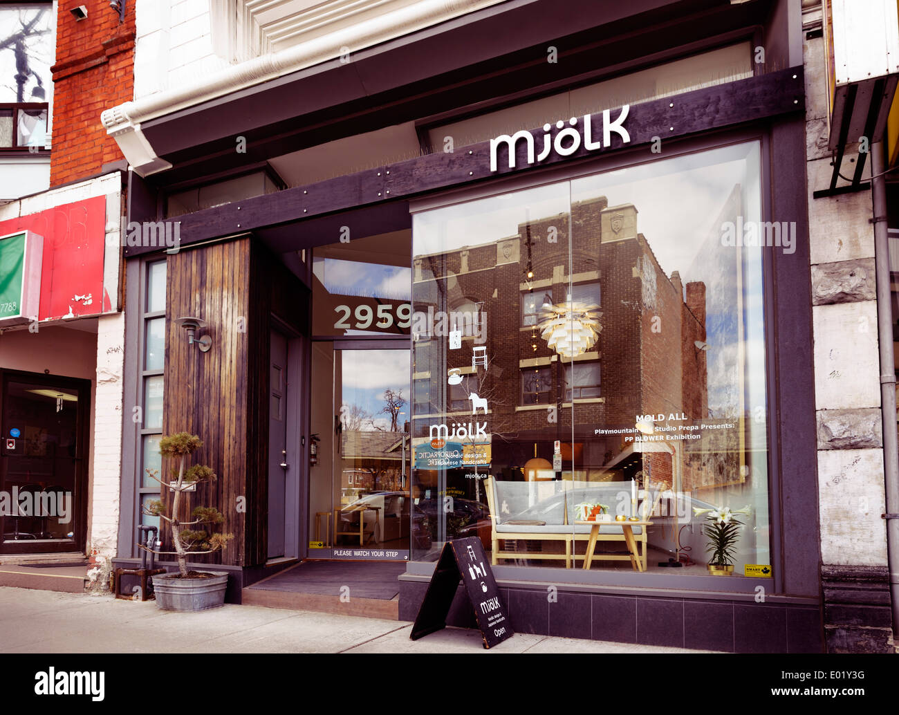Wonderful Mjolk Interior Design And Home Decor Shop At The Junction Neighbourhood In  Toronto, Canada