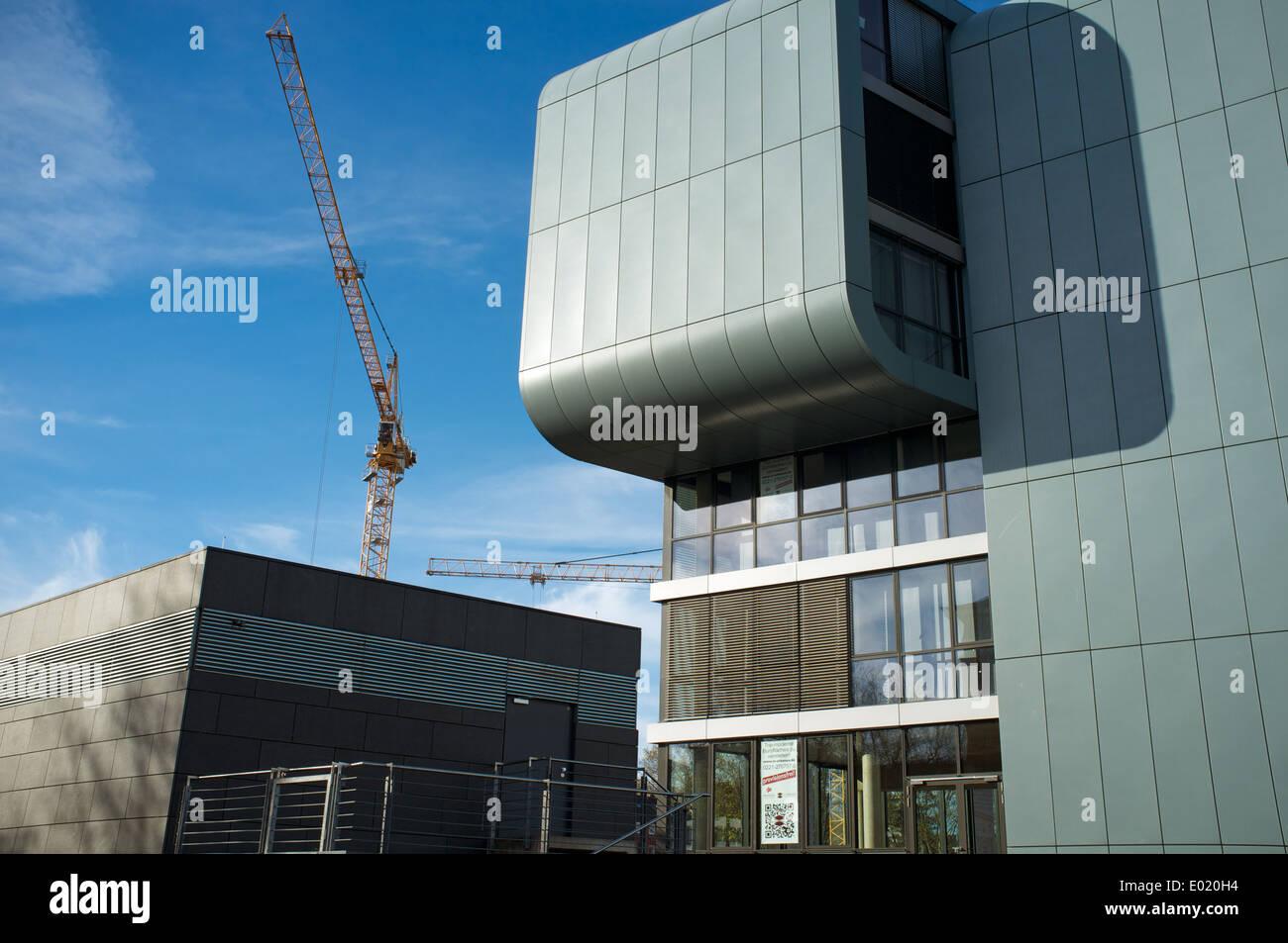 Microsoft offices Cologne Rheinauhafen Germany - Stock Image
