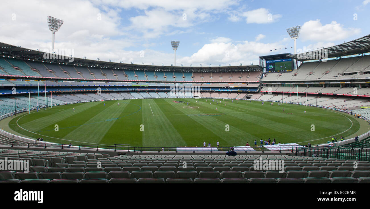 View of the Melbourne Cricket Ground (MCG) from the Olympic