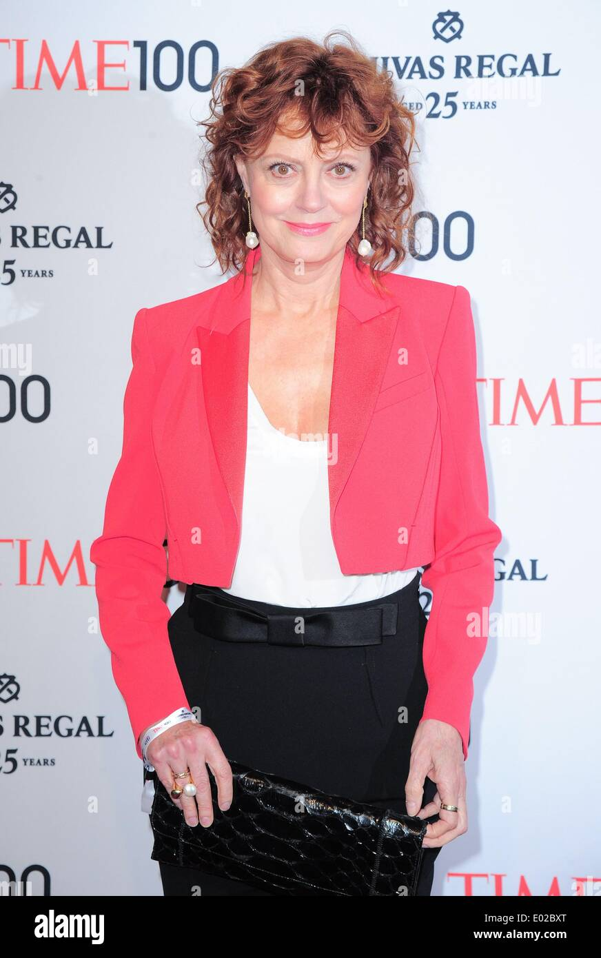 New York, NY, USA. 29th Apr, 2014. Susan Sarandon at arrivals for Time 100 Gala Dinner, Jazz at Lincoln Center's Fredrick P. Rose Hall, New York, NY April 29, 2014. Credit:  Gregorio T. Binuya/Everett Collection/Alamy Live News - Stock Image