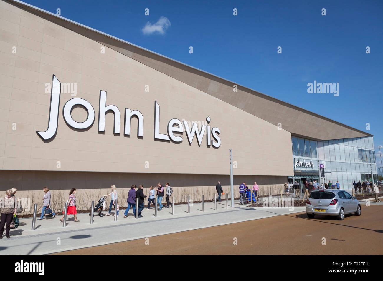 John Lewis store in York, UK - Stock Image