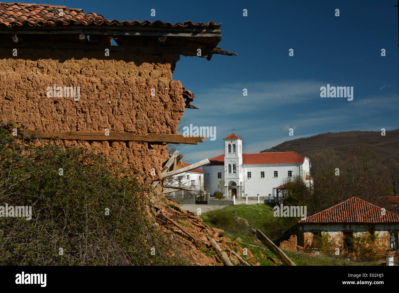 Church, Gavros, Greece - Stock Image