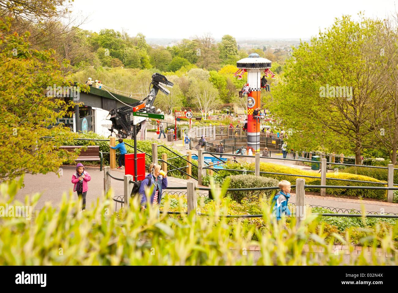 UK, Windsor, Legoland, A family leisure park. Stock Photo