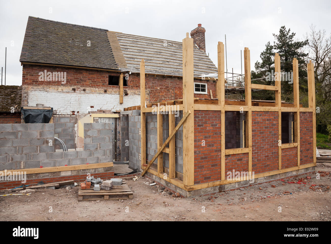 House Extension Stock Photos & House Extension Stock Images - Alamy