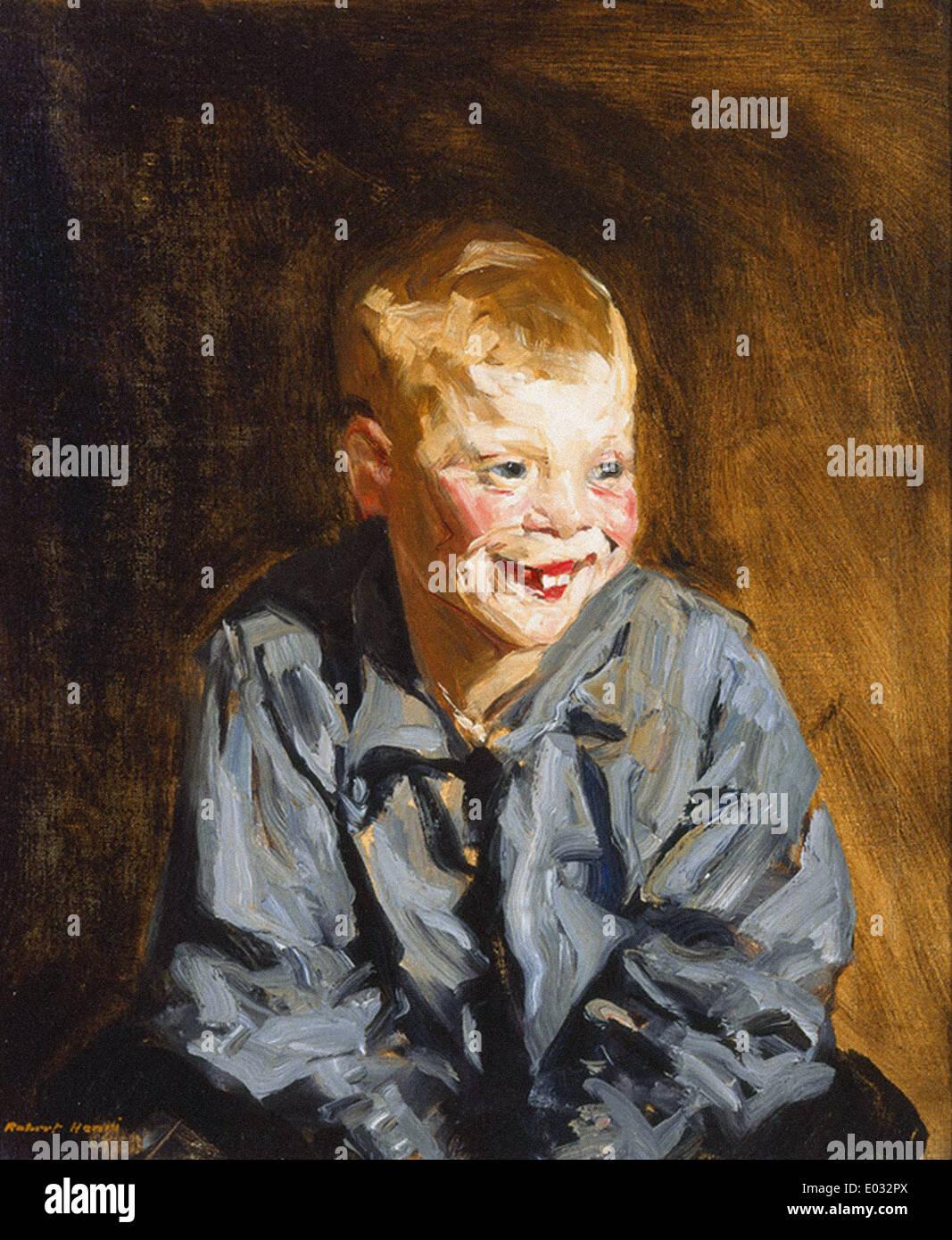 Robert Henri Dutch Joe (Jopie Van Slouten) - Stock Image