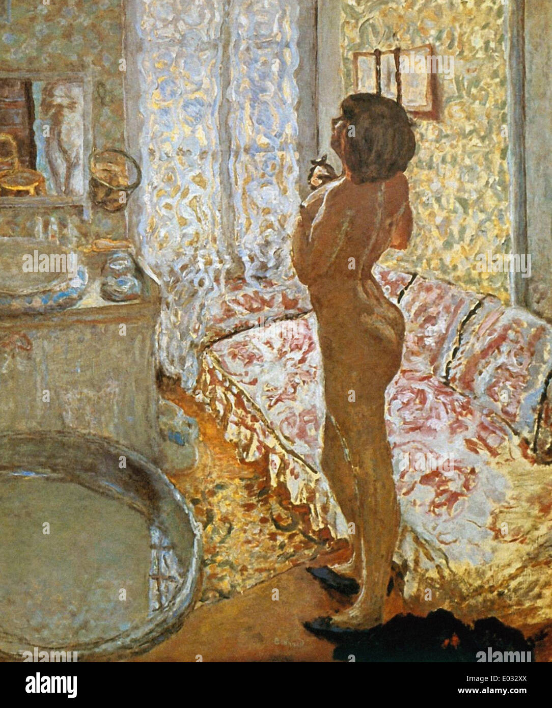 Pierre Bonnard Le Nu à Contre-Jour - Stock Image