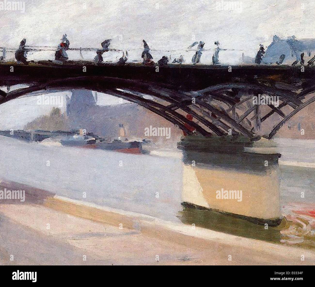 Edward Hopper Le Pont des Arts - Stock Image