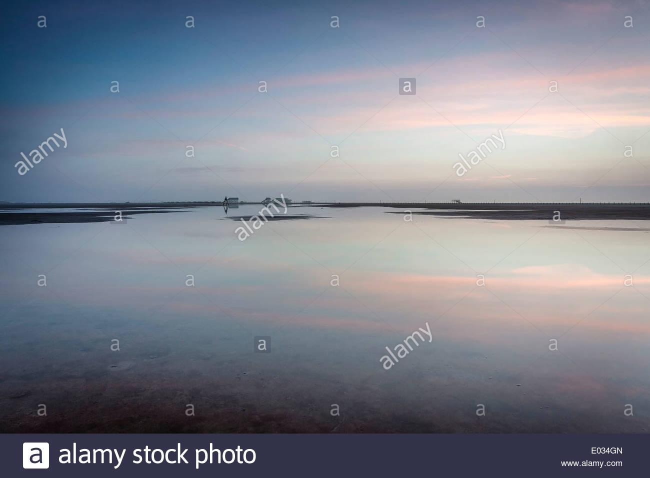 Blaue Stunde in SPO - Stock Image