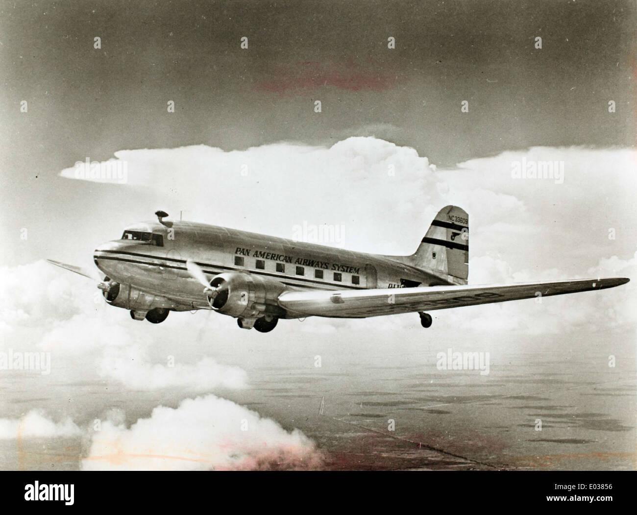 Douglas DC-3A Stock Photo