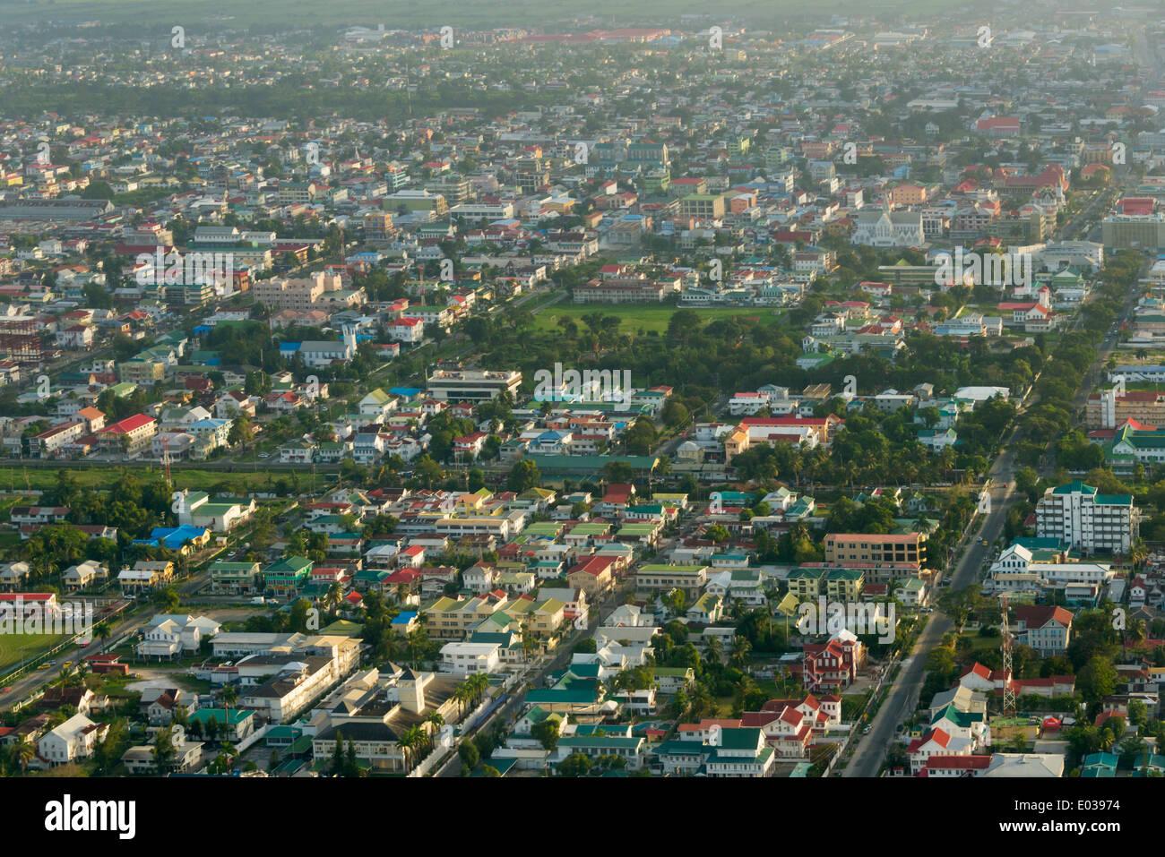 Aerial View Of Georgetown Guyana Stock Photo 68914584