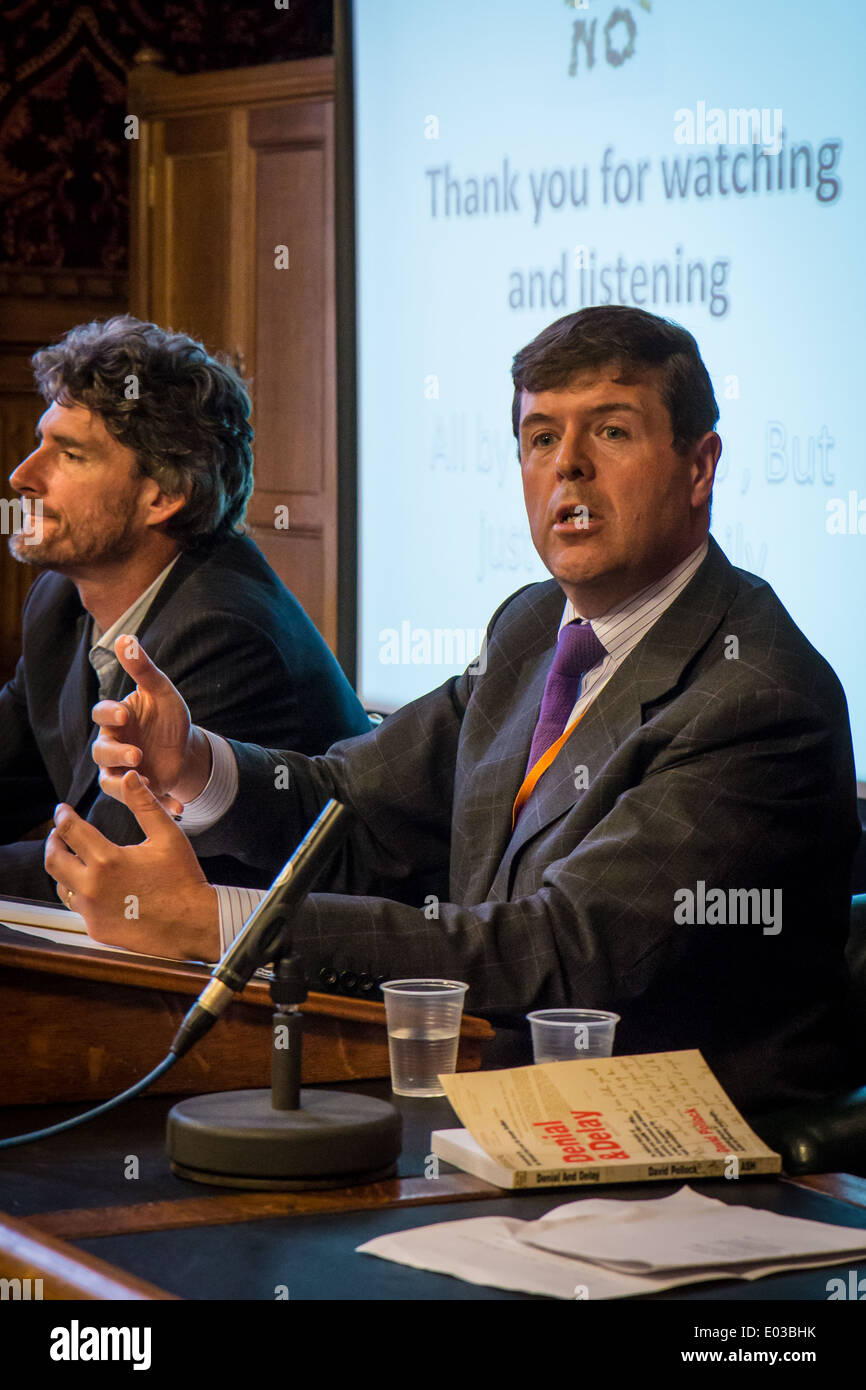 Paul Burstow MP Liberal Democrat for Sutton and Cheam - Stock Image