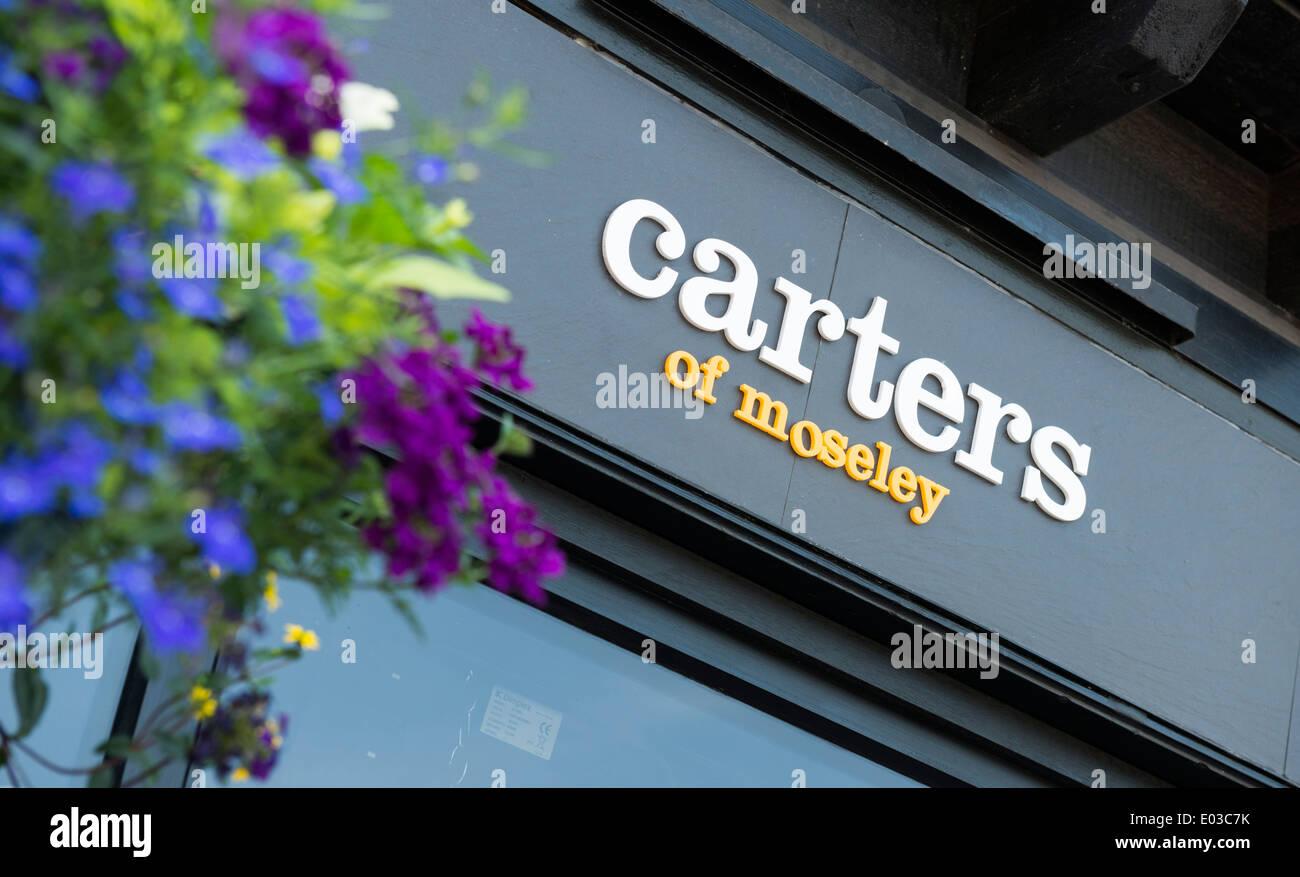 Carters restaurant, Moseley, Birmingham Stock Photo