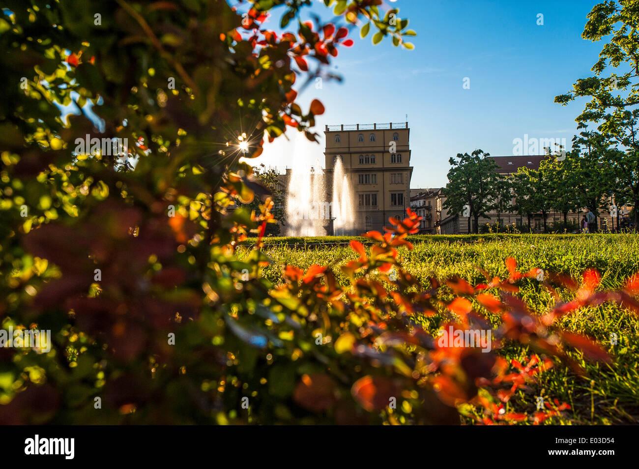Piedmont Turin Gardens Of Stock Photos & Piedmont Turin Gardens Of ...