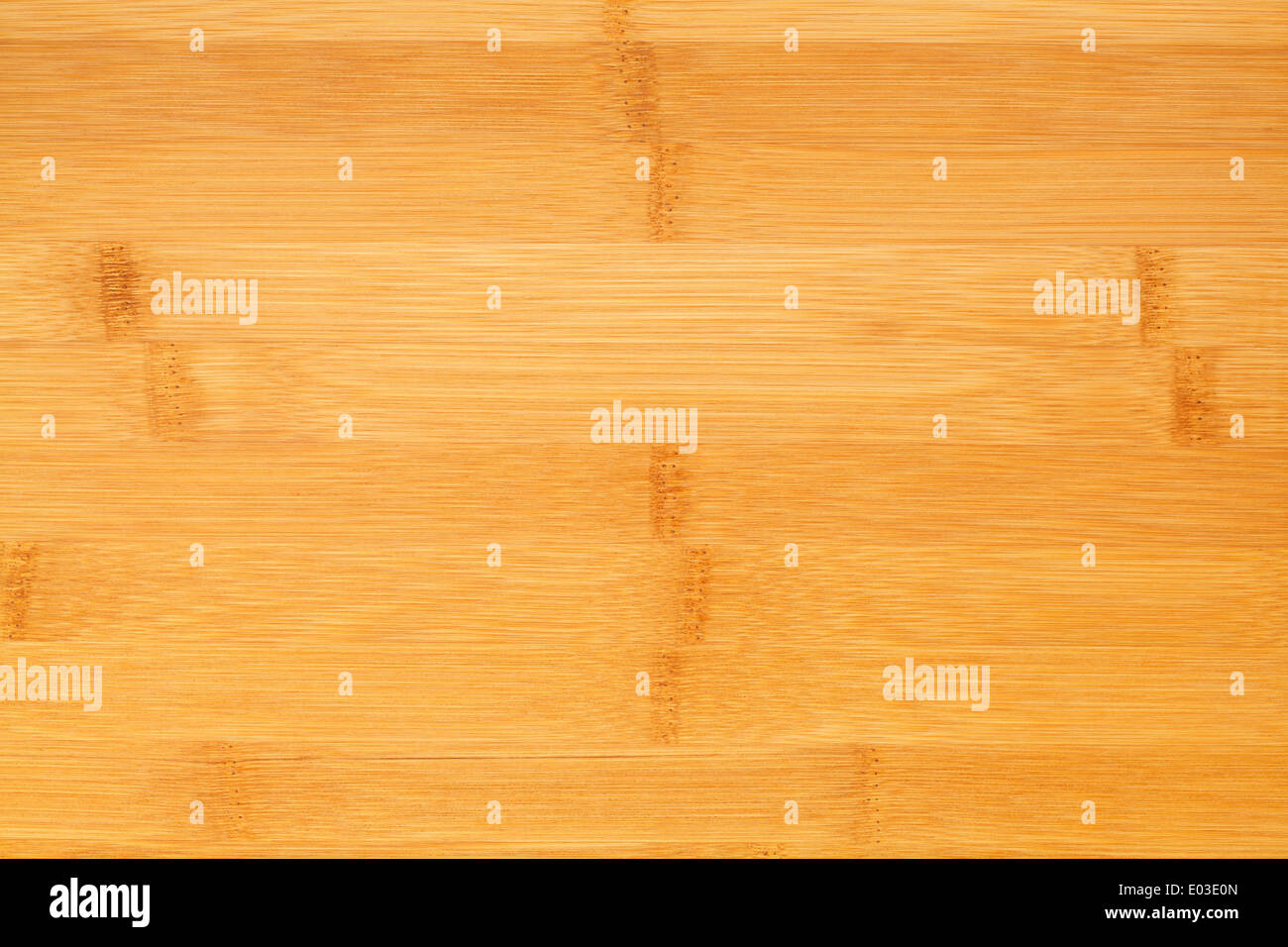Clean Bamboo Wood Cutting Board Background with Copy Space. - Stock Image