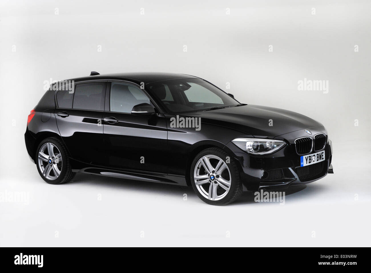 2013 BMW 118d - Stock Image